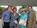 Josh Shideler, Wynette Jameson, Penny Melchin (Ray's grandmother) and Michael Hutchinson.