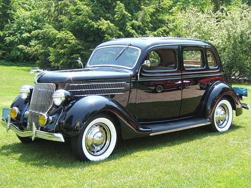 Photo 1936 ford 4 door trunkback sedan a 1936 1937 1938 for 1937 ford 4 door humpback