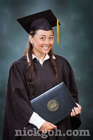 Graduation Studio Portrait - Photo Studio in Singapore - nick goh ©2010