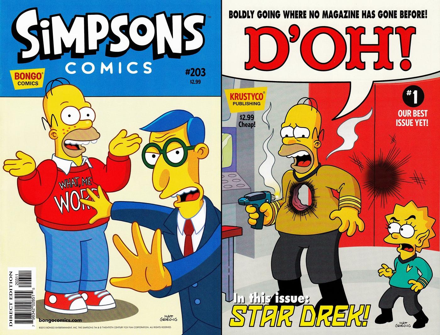 Simpsons Comics #203