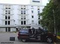 För första gången under resan så överger vi Motel 6 och bor på Days Inn i Cleveland.