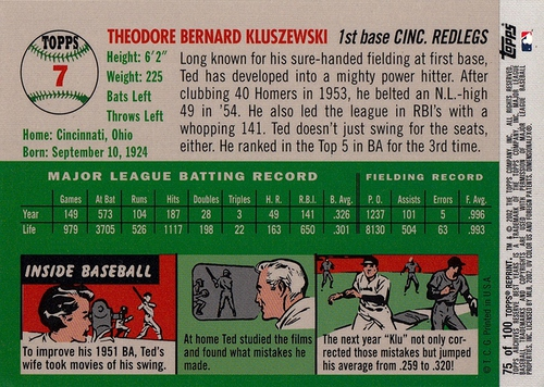 2002 Topps Archives Reserve #075 (2)