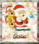 Santa with friendsTaErica
