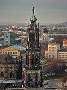Turm der Hofkirche