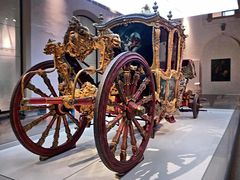 """""""Grand Carosse"""" franz. Kutsche aus dem 17. Jahrhundert"""