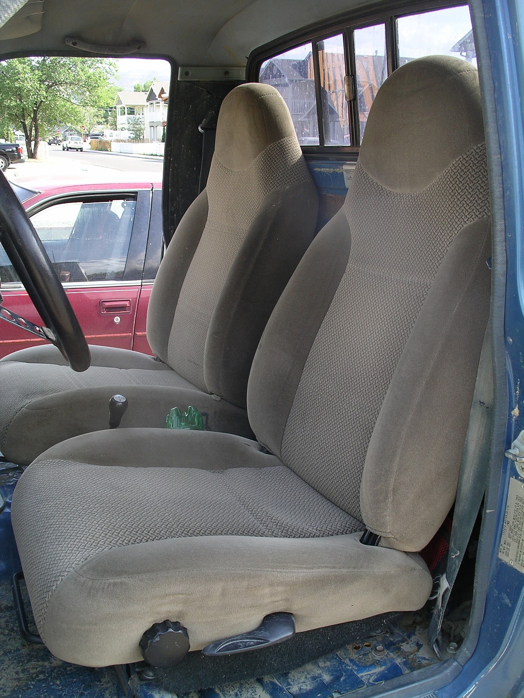 Toyota pickup bench seat swap