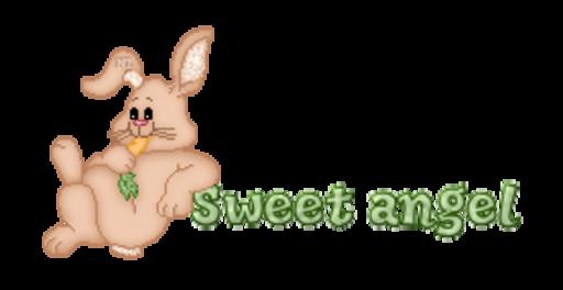 Sweet angel - BunnyWithCarrot