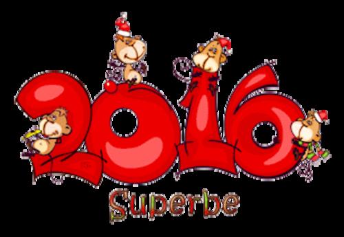 Superbe - 2016WithMonkeys