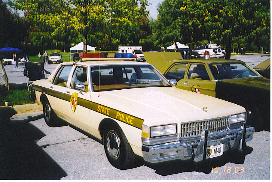MD - Maryland State Police 1989