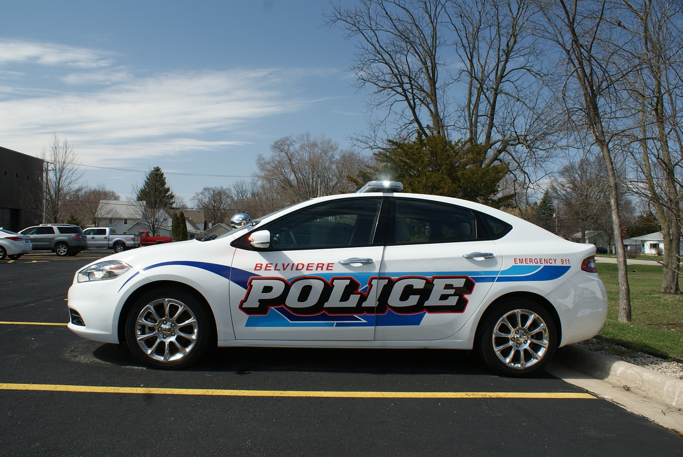photo il belvidere police 2013 dodge dart illinois. Black Bedroom Furniture Sets. Home Design Ideas