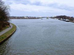 Abzweig vom Kanal zu den Weserschleusen