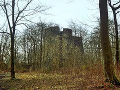 """Turm """"Bergfried"""" der Ruine Iburg"""