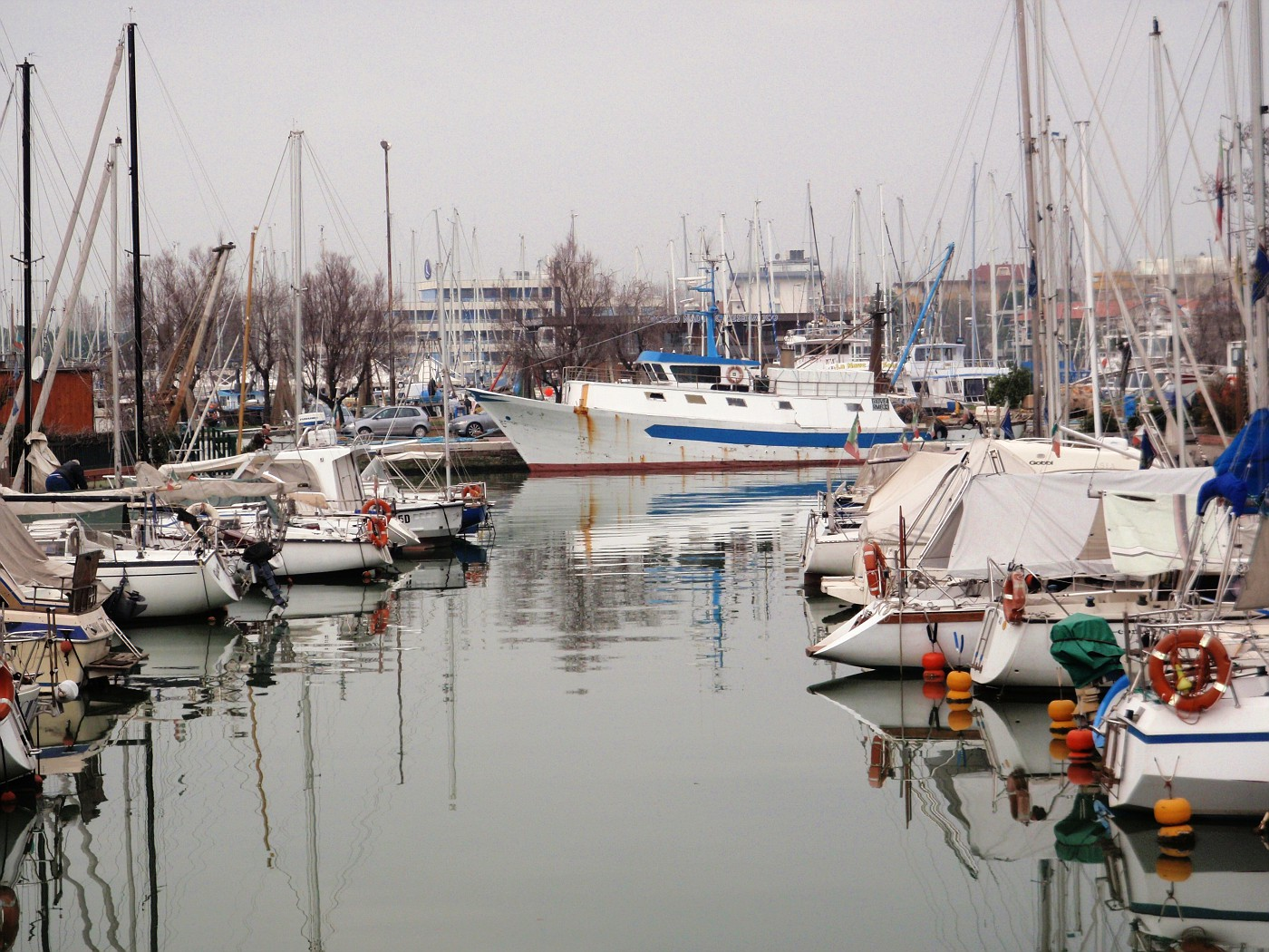 Le barche in porto
