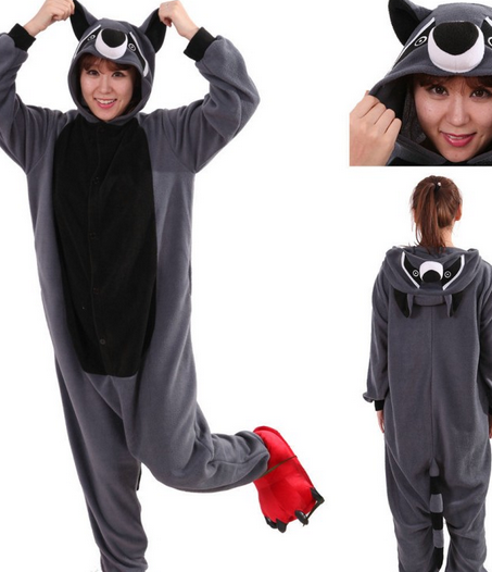 animal onesie adults