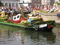 Boat 34.  Musical Sponser Flora Holland ( The Flower Auction)