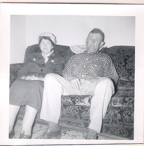 206-Great-Grandparents Shelby and Della YANCEY Laxton