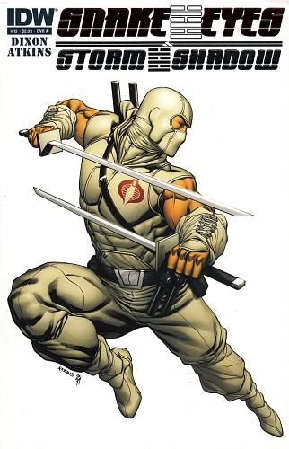 Snake Eyes & Storm Shadow #13 A