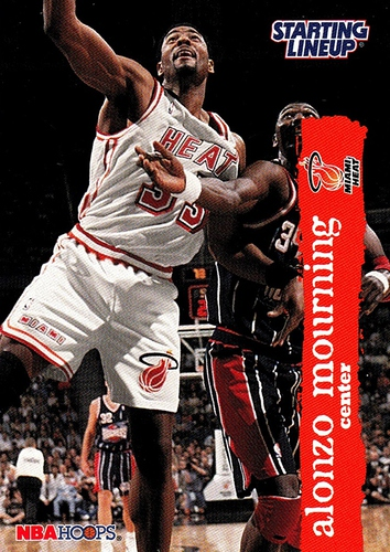 1996 Starting Lineup Alonzo Mourning (1)