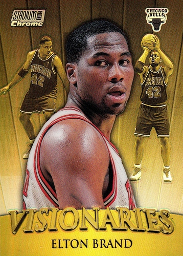 1999-00 Stadium Club Chrome Visionaries Refractor #V08 (1)