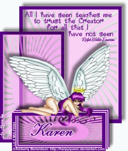 Karen AllSeen AmberlyB Alyssia