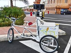 Street View tricycle