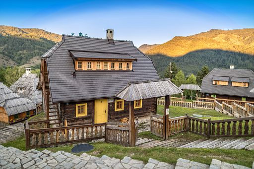 Drvengrad, an enchanting ethno village by Emir Kusturica