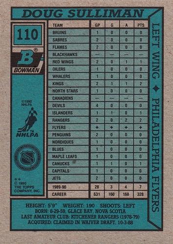 1990-91 Bowman #110 (2)