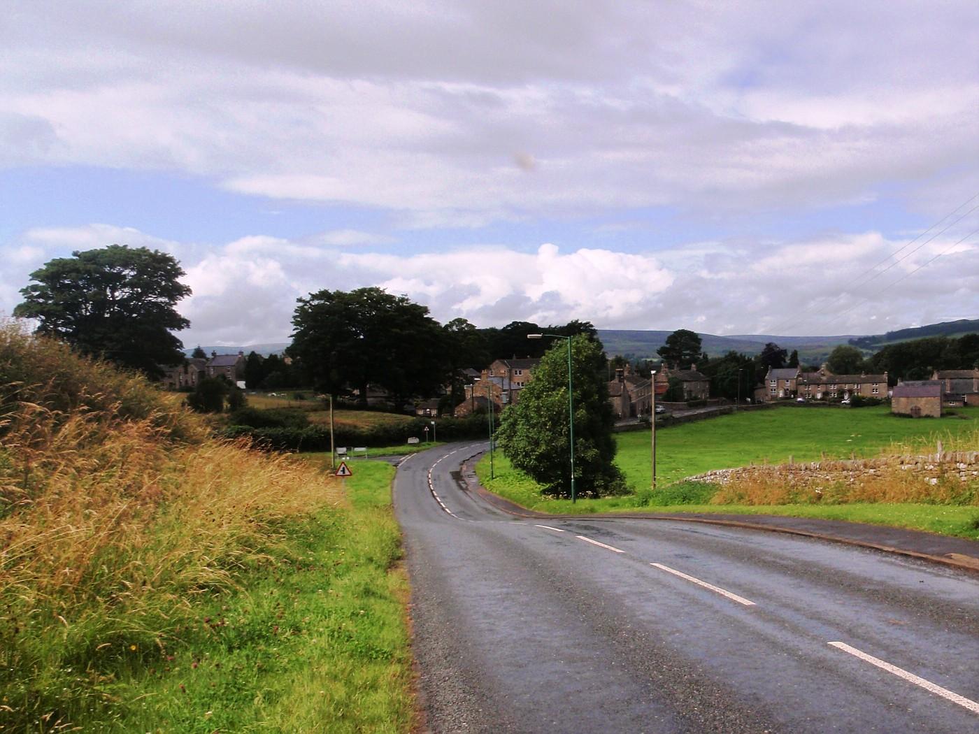 Landscape of Cumbria, England