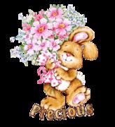 Precious - BunnyWithFlowers