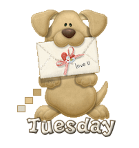 DOTW Tuesday - PuppyLoveULetter