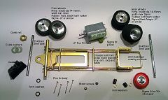 Part list for completing a Neckcheese MK.I chassis