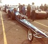 Sissell & Dick, twin 6 cylinder dragster.