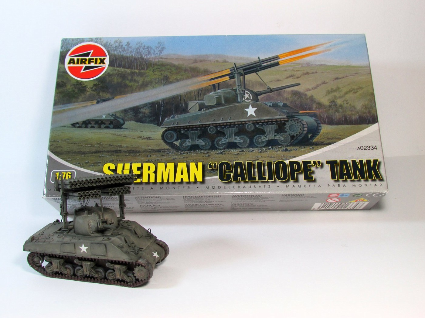Airfix 1 76 Sherman Calliope A02334 Page 2 The