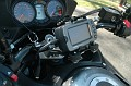 Next came the Garmin 2730 GPS with XM radio in a Touratech mount.
