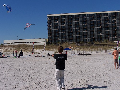 Paul and new kite.