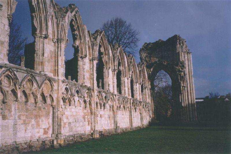 Ruins at York