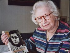 Miep Gies kept Anne Franks diary safe before its publication