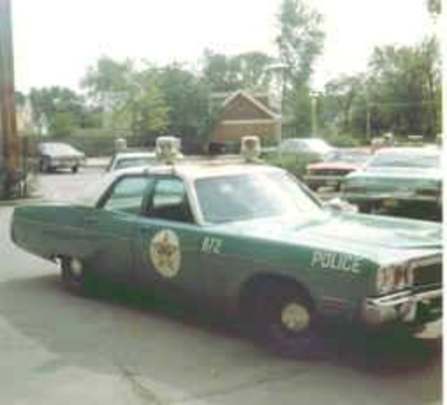 IL- Park Ridge Police 1973 Plymouth