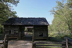 Tipton Corncrib and Cantilever Barn #3