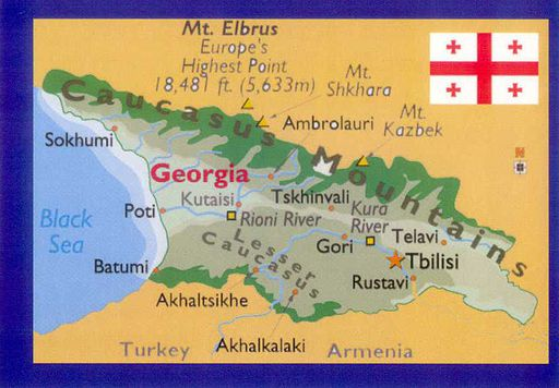 00- Map of Georgia