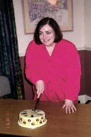 Sue Alexander and the Cat cake,