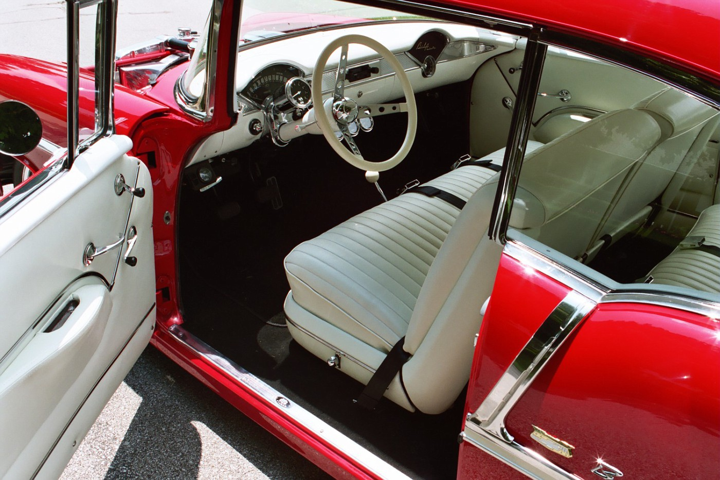 55 Chevy Old Style Interior