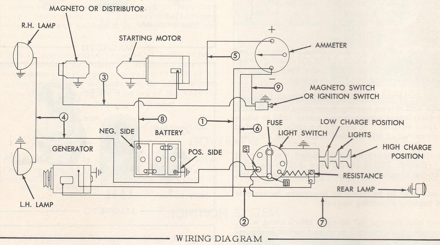 Need 6 Volt Wiring For Wd45 Yesterday39s Tractors Wiring Diagram