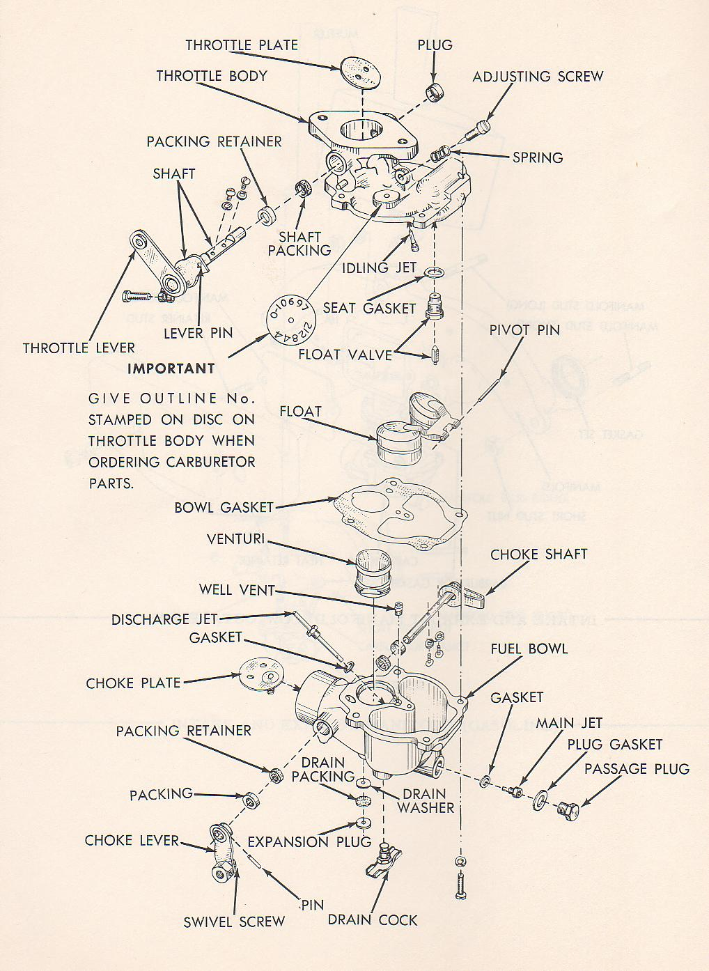 need    B zenith Carb    diagram     Yesterday s Tractors  90210