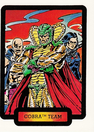 1987 Comic Images GI Joe #37 (1)