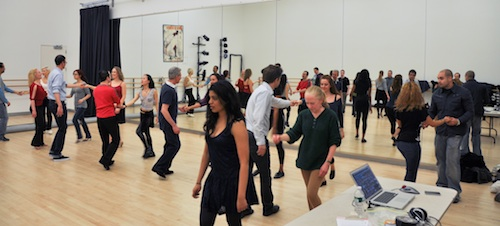 West Coast Swing at The Ailey Extension