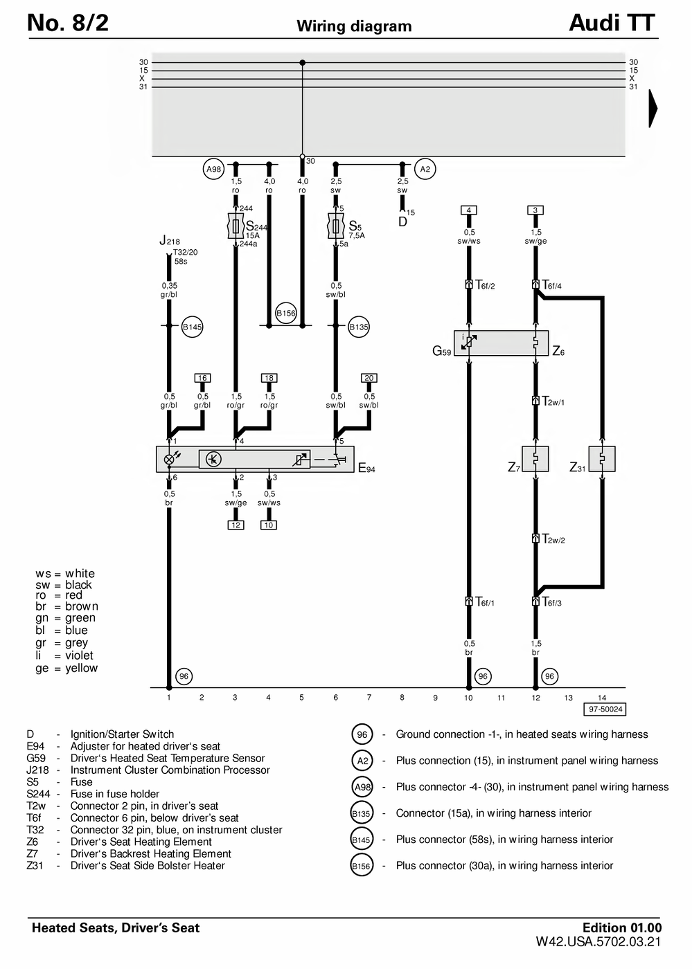 Audi Tt Mk2 Wiring Diagram - Wiring Diagram All table-approve -  table-approve.huevoprint.it | Audi Tt Engine Wiring Diagram |  | Huevoprint
