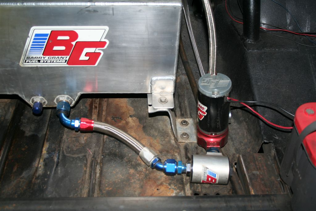 Raising A Fuel Cell Off The Trunk Floor Chevelle Tech