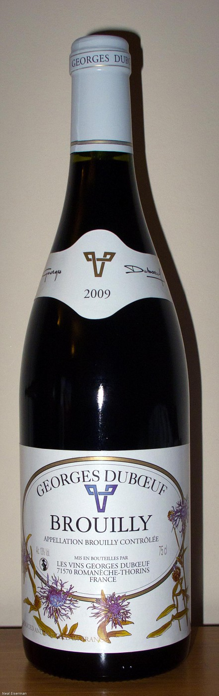 Georges Dubœuf Brouilly 2009 001