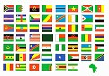 02-AFRICAN COUNTRIES FLAGS 1